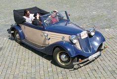 1933-42 Tatra 75 - The Tatra 75 is a middle class automobile introduced in 1933 by Tatra as a replacement for their Type 54 model. The front-mounted OHV air-cooled boxer motor of only 1688 cc had an advertised output of just 30 hp (22 kW).
