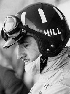 pinteret.com/fra411 #vintage #formula1 -Graham Hill