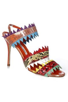 Spring 2013 Accessories Top Trends: Call of the Wild (Manolo Blahnik RTW Spring 2013)