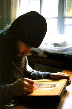 #Orthodoxy #Christianity #iconography Christian Church, Christian Faith, Writing Icon, Russian Orthodox, Orthodox Christianity, Prayer Book, Orthodox Icons, Artist At Work, Catholic