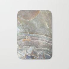 Stormy day abalone Bath Mat