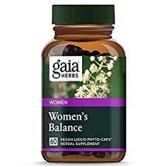 Sponsored - Gaia Herbs Women's Balance Vegan Liquid Capsules 60 Ct Hormone For Women Mood Hormone Imbalance Symptoms, Healthy Liver, Healthy Tips, Healthy Food, Healthy Eating, Female Hormones, Hormone Balancing, Gaia, Herbalism