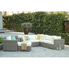 Found it at Wayfair - The New Standard 7 Piece Deep Seating Group with Cushion