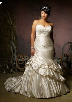 Julietta by Mori Lee 3125 Size 26W Candlelight - New, Never worn or Altered dresses at low prices!  www.BridalOutletofAmerica.com