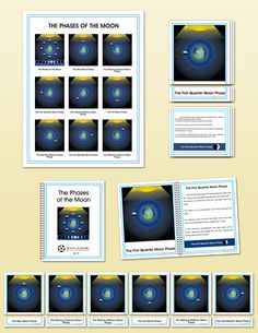 The Phases of the Moon, Elementary   Montessori Research and Development - Montessori materials, teacher manuals and books