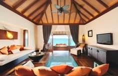 Luxury Resort Ayada, Maldives    Need to go here..soon!