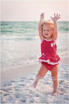 Dancing little girl at the beach            #dance #dancing  http://marshere.com.au/