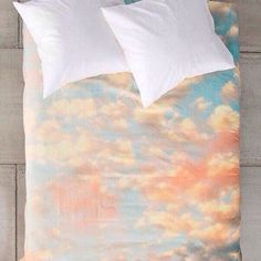 Sleeping in the clouds. Fitted sheet