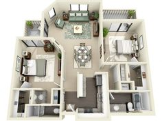 One and Two Bedroom Apartments in Huntington Beach, CA l Artisan Apartments