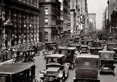 Old photo of New York