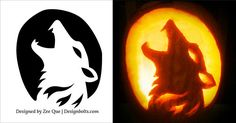 Free-Scary-Fox-Pumpkin-Carving-Pattern-2015 More