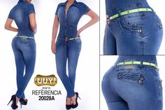 Enterizo colombiano UUY! Jeans  +Modelos en:  http://www.ropadesdecolombia.com/index.php?route=product/category&path=112