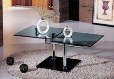10 Modern Glass Top Coffee Table Designs