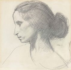 Augustus Edwin John, Portrait of Dorelia Woman Painting, Painting & Drawing, Human Sketch, Photography Poses Women, Irish Art, Life Drawing, Daily Drawing, Western Art, Portrait Art
