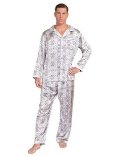 Great Sale MYK 22 Momme Pure Mulberry Silk Men s Lightweight Long Pajamas  Set with Gift Box f920358ec