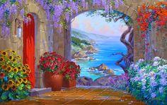 paisajes-y-flores-con-espatula