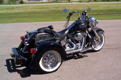 Image result for motor trike heritage softail