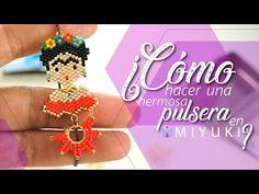 PULSERA MIYUKI SIN TELAR - FRIDA - YouTube