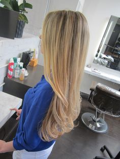 Want my hair to be this long!