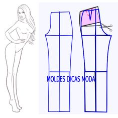 Ideas skirt pattern sewing tutorials fabrics for 2019 Dress Sewing Patterns, Sewing Patterns Free, Sewing Tutorials, Clothing Patterns, Pattern Sewing, Sewing Pants, Sewing Clothes, Diy Clothes, Skirt Sewing