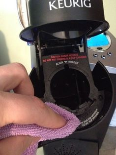 """Everyone complained about their """"nasty keurigs"""" and got rid of them.  I guess they didn't realize it wasn't a self-cleansing coffee-pot....Here's some tips for cleaning that bad boy..."""