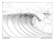 How To Draw A Wave   Club Of The Waves