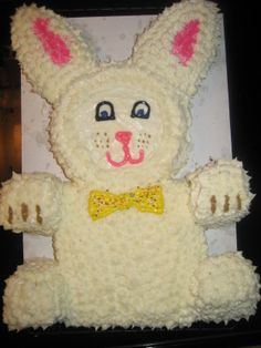 Find the perfect recipe to celebrate the holiday with this Easter Bunny Cake Recipe from Food.com.