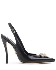 Escarpins Ouverts Versace Femme - thecorner.com - The luxury online boutique devoted to creating distinctive style