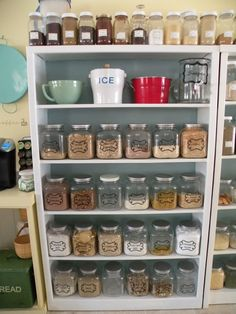 make big batches of brownie mixes and cookie mixes - instead of buying indiv. boxes... and then use your Foodsaver and suck the air out of them and store in cool, dry place.