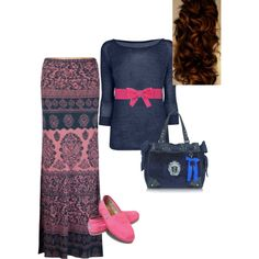 Untitled #28 - Polyvore NO TOMS for me, but the rest is nice. Sandals will work well for me ;)