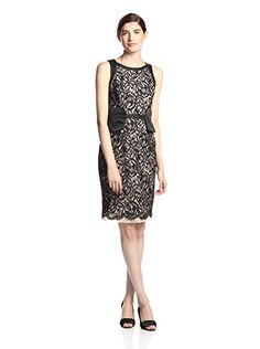 Theia Women's Sheath Dress (Black)