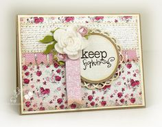 Keep Fighting by mom2n2 - Cards and Paper Crafts at Splitcoaststampers