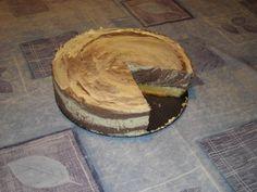 Csíkos túrótorta Camembert Cheese, Dairy, Pie, Food, Torte, Cake, Fruit Cakes, Essen, Pies
