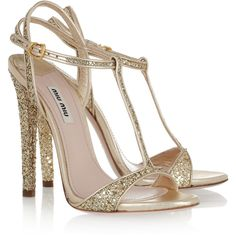 mink maids photoshoot - buy nude strappy heels, cover with glitter