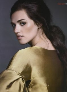 Katie McGrath. love her looks..she acts as Morgana the witch or lady of the Avalon Lake in Merlin tv shows