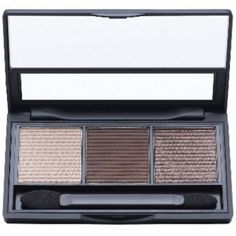 ModelCo Naturally Neutral Eyeshadow Palette - first and third swatched once - $4