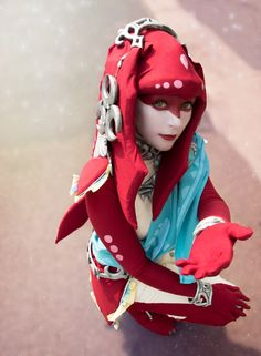 Breath of the wild mipha cosplay