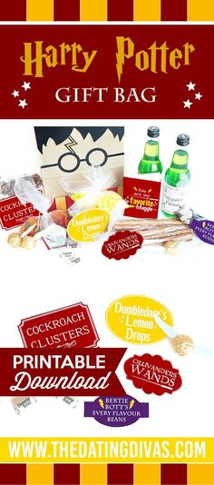 Love this Harry Potter gift idea! Perfect DIY gift for your favorite Muggle!! - The Dating Divas #HarryPotter