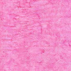 Pink Wavy Dots Tonal Batik Fabric Hoffman | eBay