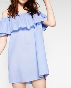 c8dce62d4223 STRIPED DRESS-Collection-WOMAN-NEW IN | ZARA United States Dakota Fanning,