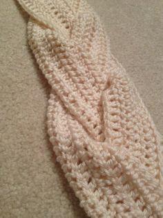 Braided Crochet Scarf Pattern | windsorknits