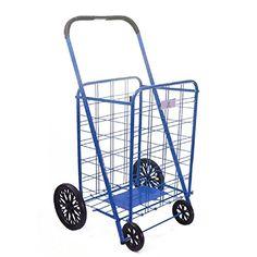 Utility Cart with Wheels Rolling Folding Kitchen Shopping... https://www.amazon.com/dp/B01M7MDAT7/ref=cm_sw_r_pi_dp_x_ts.9xbVD7RNEF