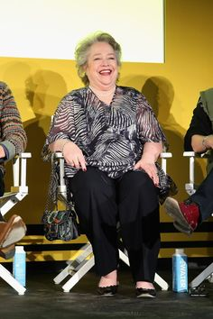 Pin for Later: This Is What Happens When the Stars of Your 2 Favorite Shows Come Together Kathy Bates