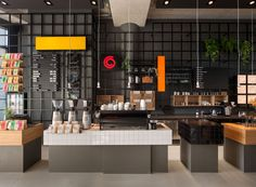 Interior Design Coffee Company Amsterdam By Ninetynine Steel