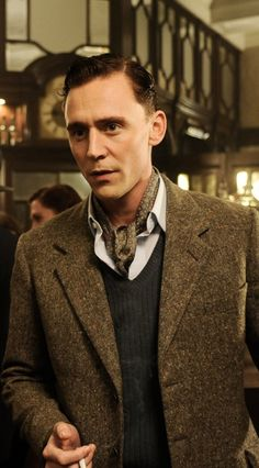 Repinning the beautiful Tom Hiddleston as Freddie Page in The Deep Blue Sea.