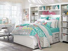 I love the PBteen Shelby Sunset Beach Bedroom on pbteen.com