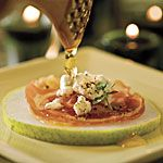 Pancetta Crisps with Goat Cheese and Pear - plus southern living appetizers