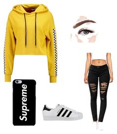 """""""Untitled #7"""" by maria-georgescu on Polyvore featuring adidas, TWINTIP and Morphe"""