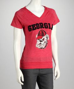 Take a look at this Red Georgia Fiona Tee on zulily today!