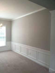 Dining Room - Agreeable Gray by Sherwin Williams Interior Paint Colors, Paint Colors For Home, Interior Walls, House Colors, Wall Colors, Popular Paint Colors, Favorite Paint Colors, Repose Gray, Grey Paint